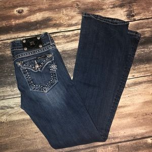 Miss Me boot jeans size 27